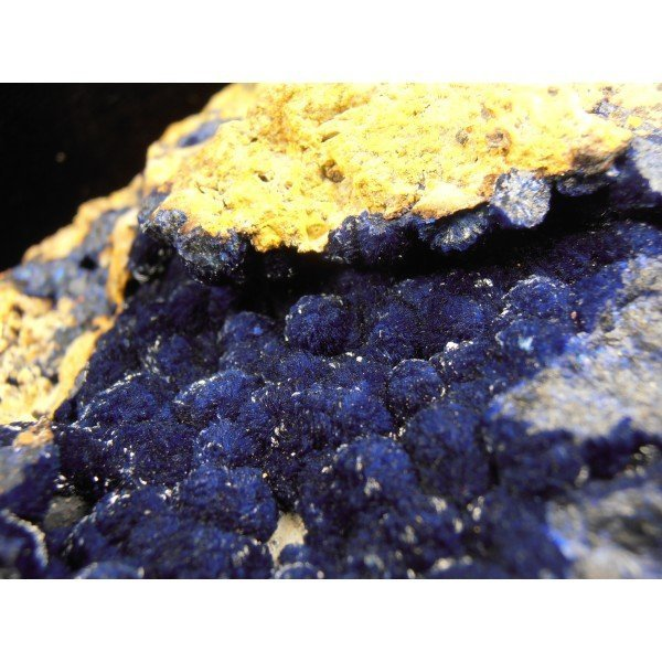 Azurite Crystals Morenci Arizona Prussian Blue Color