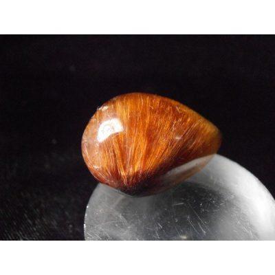 rutilated quartz tear drop