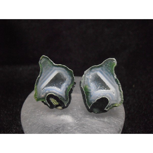 Matched Pair - Polished Micro-Geodes-2462