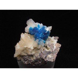 Vivid Blue Pentagonite - Wagholi-3878