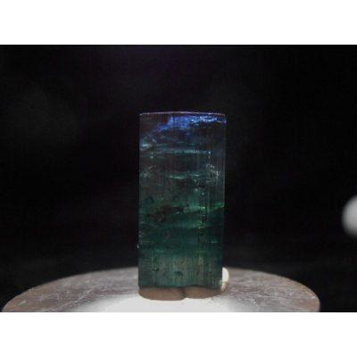 tourmaline, tourmaline crystal, blue cap, elbaite, cruzeiro mine, sao jose da safira, minas gerais, brazil