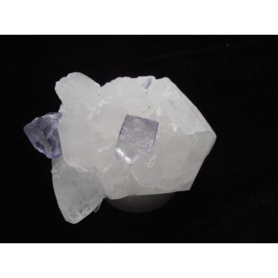 Fluorites on Quartz Yaogangxian