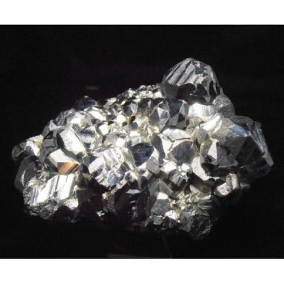 Mirror Pyrite Crystal Plate-3944