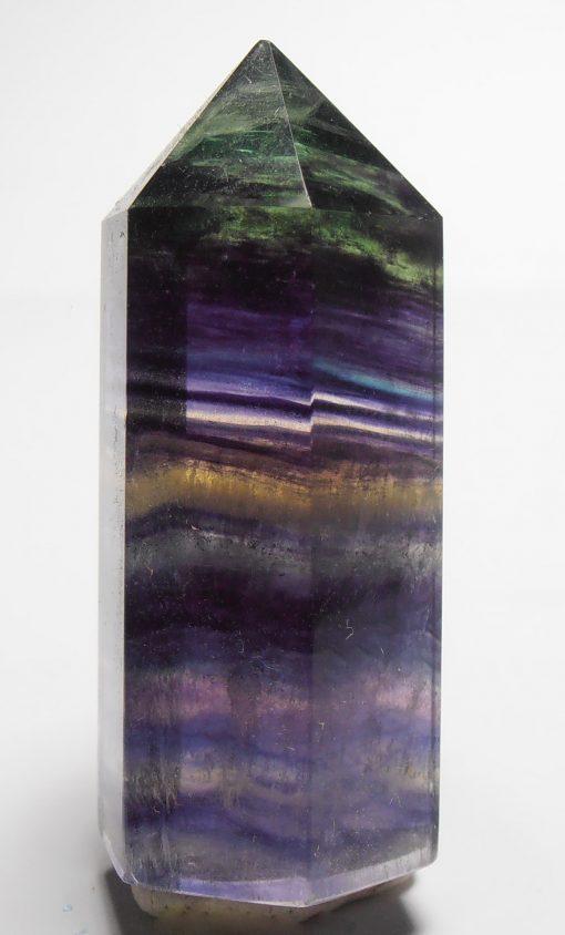 polished fluorite crystal