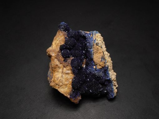 Azurite Crystal Clusters from the Morenci Mine, Morenci, Arizona