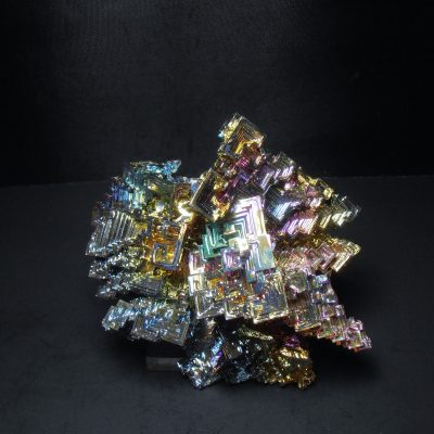 man made bismuth crystals