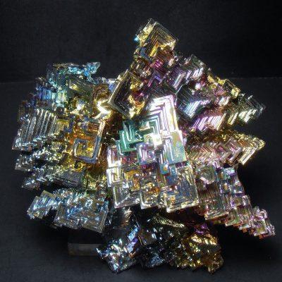 man made bismuth crystals