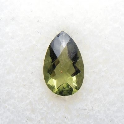 faceted moldavite