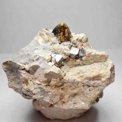 Carrollite Chalcopyrite Kamoya II Mine