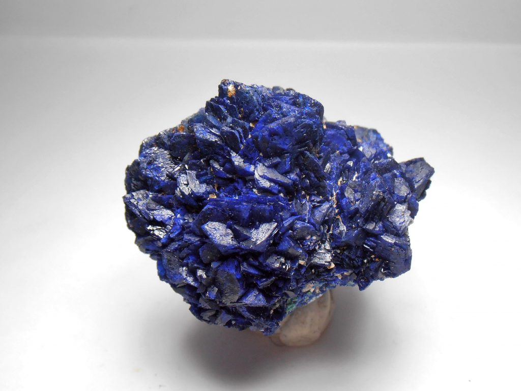 Azurite Crystal Rosette From The Huangshi Prefecture Hubei