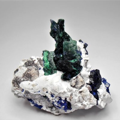 malachite pseudomorph of azurite milpillas