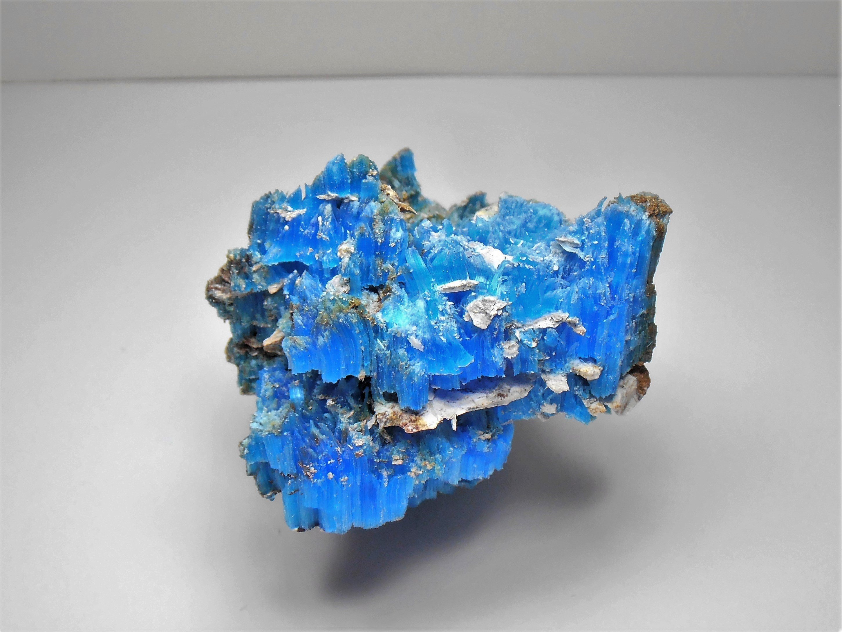 natural chalcanthite planet mine arizona USA