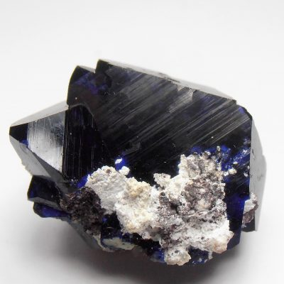 Azurite Crystal Triplet from the Milpillas Mine