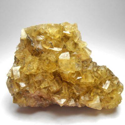 Fluorite from the Villabona Mine, Villabona, Llanera