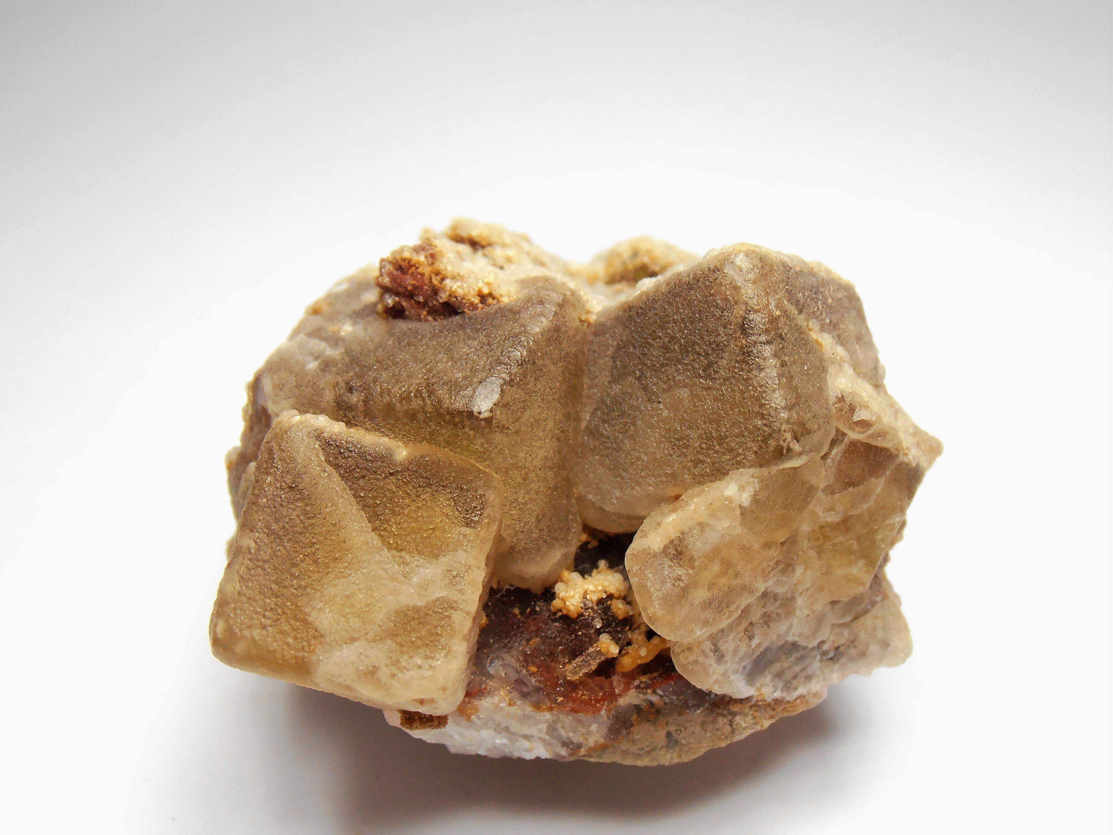 Fluorite Crystals from Moldava, Krusne Hory Mountains