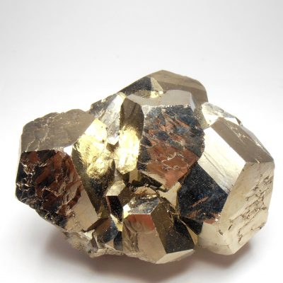 Pyrite - Large Brilliant Crystals from the Huanzala Mine