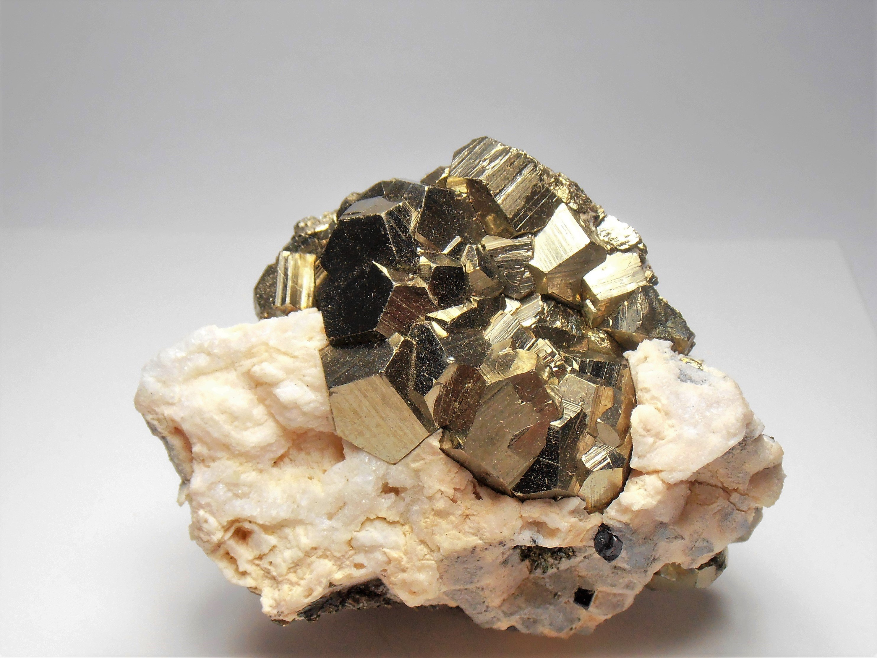 Pyrite from the Huaron Mining District in the Pasco Department