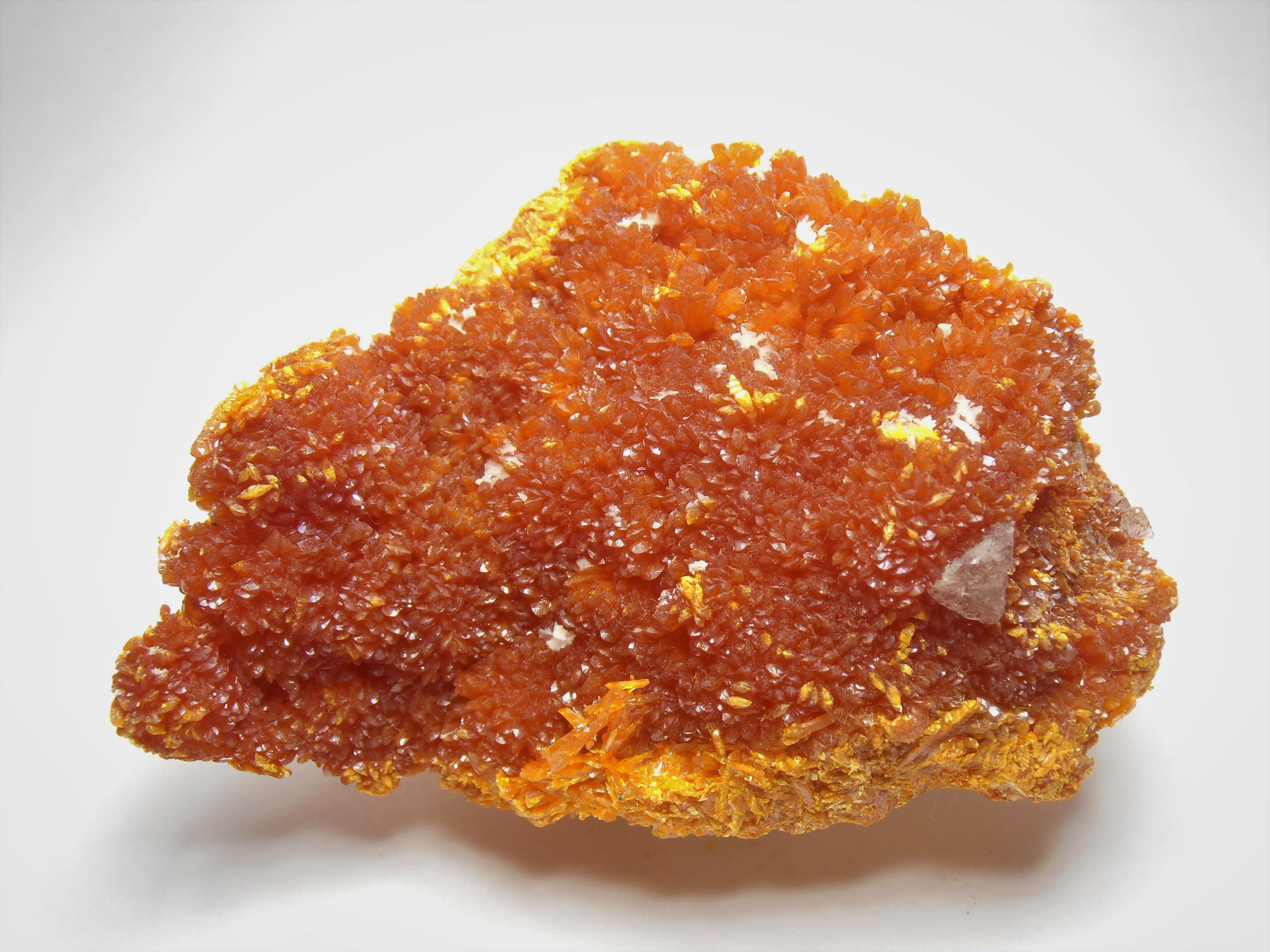 Orpiment Crystal Plate from the Northern Caucasus Region