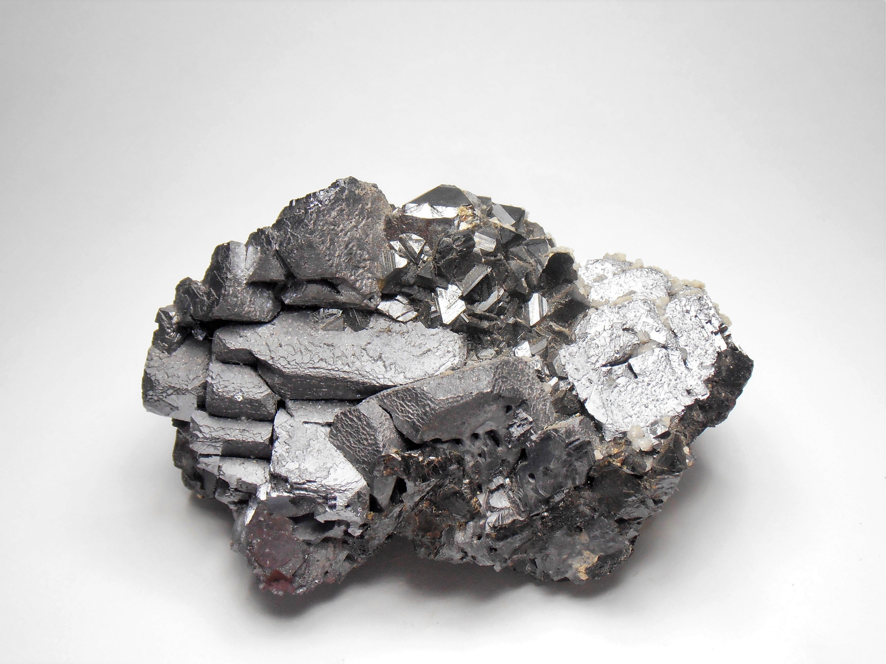 Galena - Complex Crystal Cluster from the Madan Ore Field