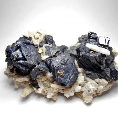 Galena - Modified Crystals from Dal'negorsk, Primorskiy Kray