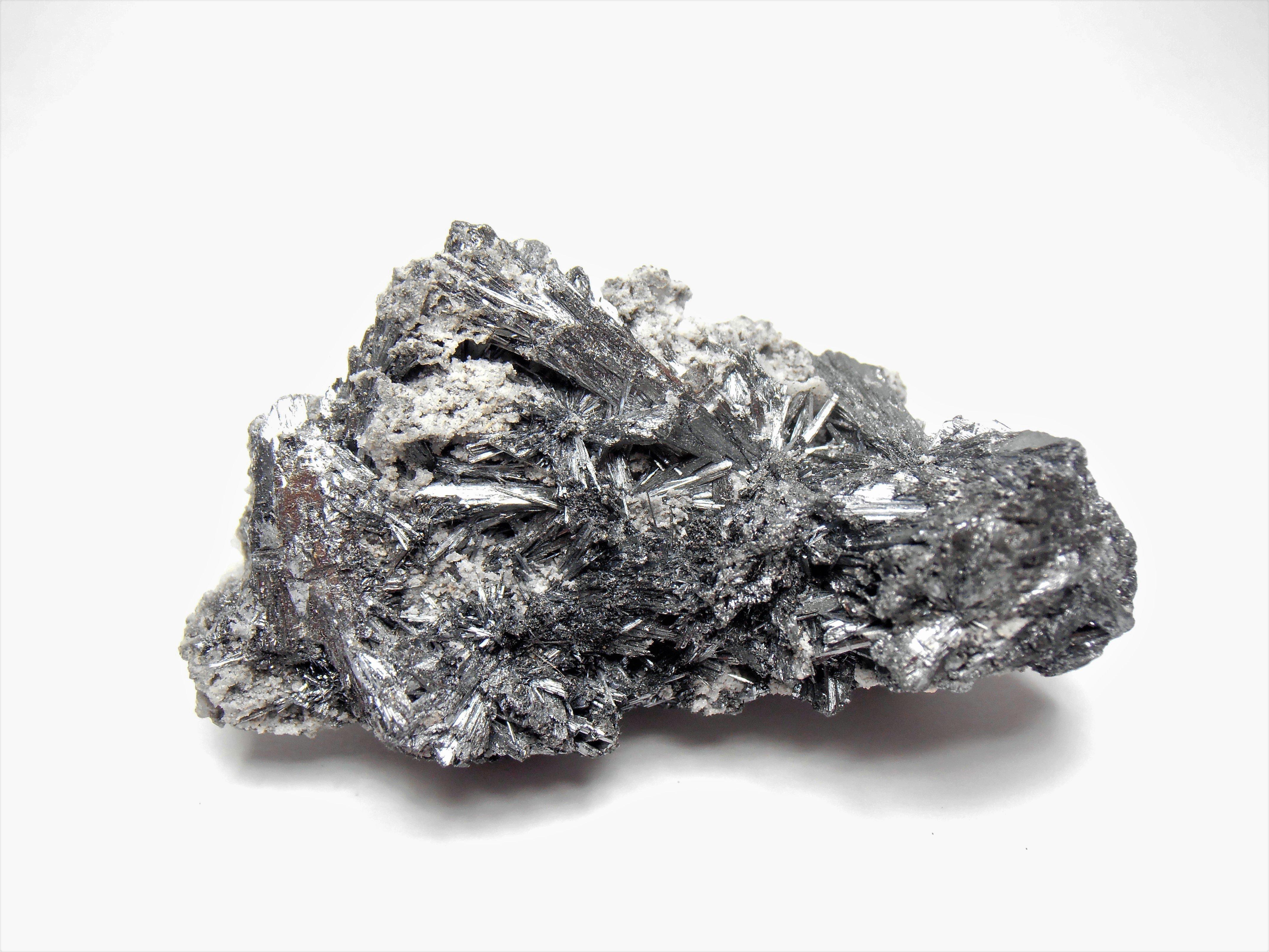 Stibnite from the Quiruvilca Mine in the La Libertad Department