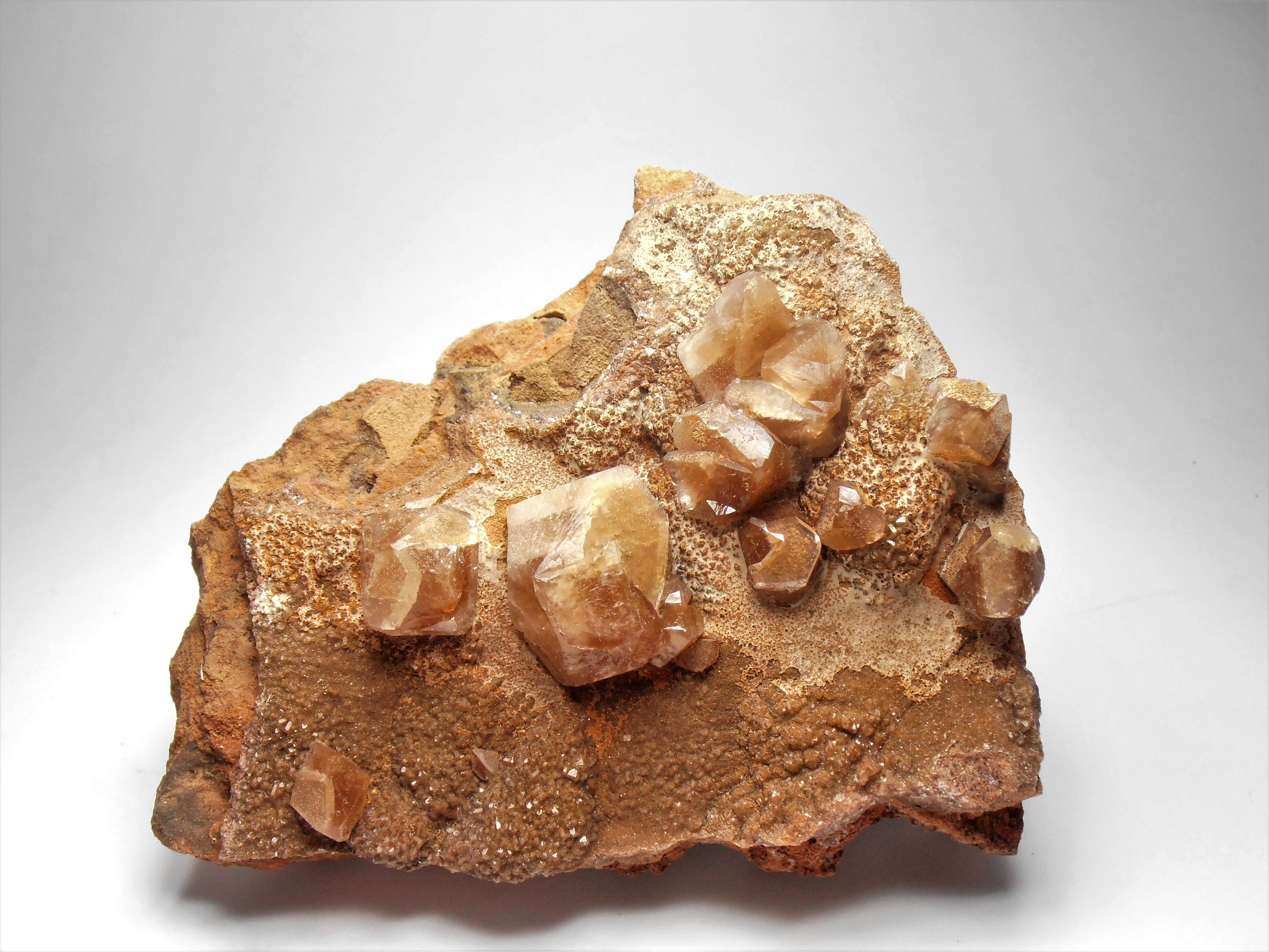 Calcite Crystal Twins from the Santa Eulalia District, Chihuahua
