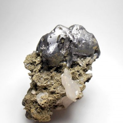 "Galena - ""Melted"" Crystal Habits from the Madan Ore Field"