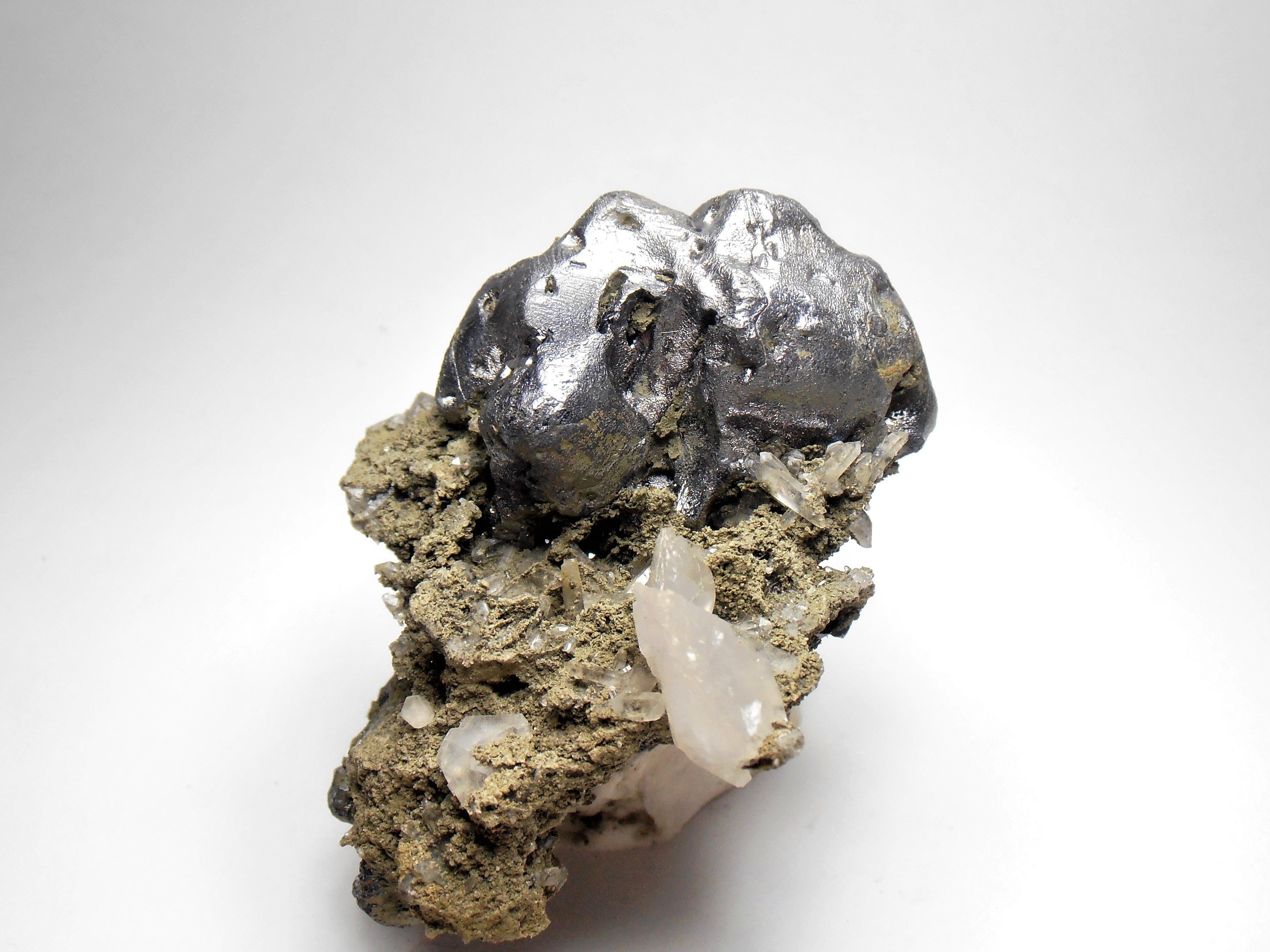 """Galena - """"Melted"""" Crystal Habits from the Madan Ore Field"""