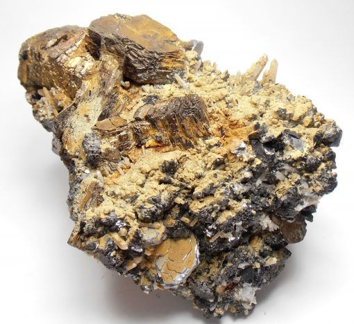 Pyrrhotite on Mineral Crystal Mix from Dal'negorsk