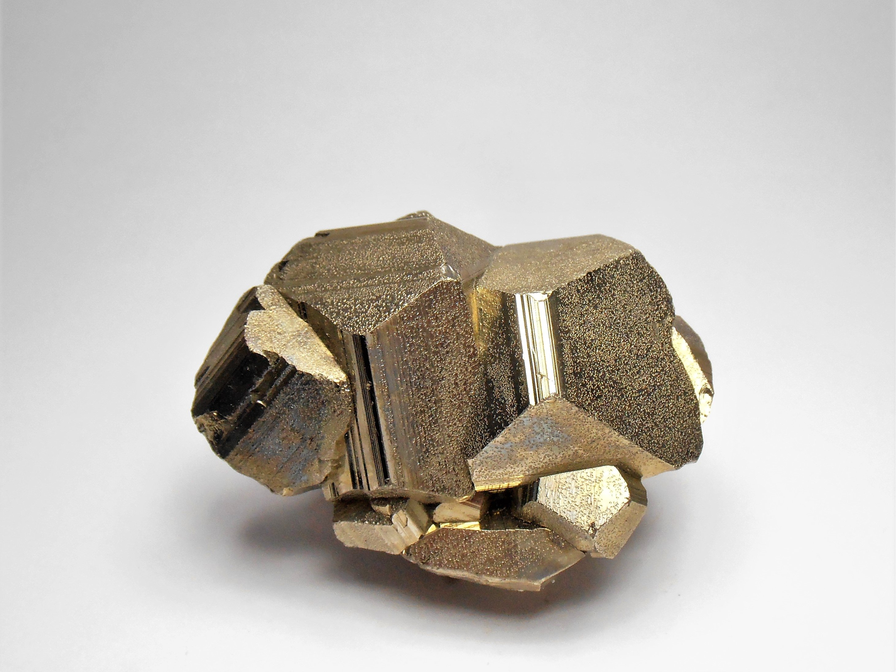 Pyrite - Large Crystals from the Huanzala Mine, Huallanca