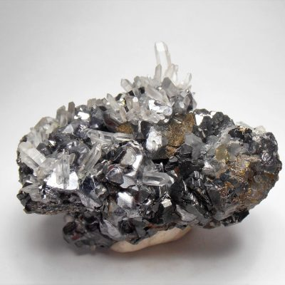 Galena with Modified Crystal Habits - from the Huaron District