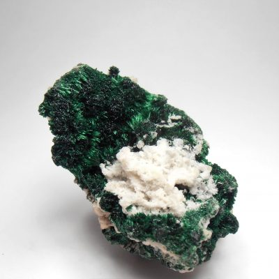 Malachite - Fibrous Crystals from the Tsumeb Mine, Tsumeb