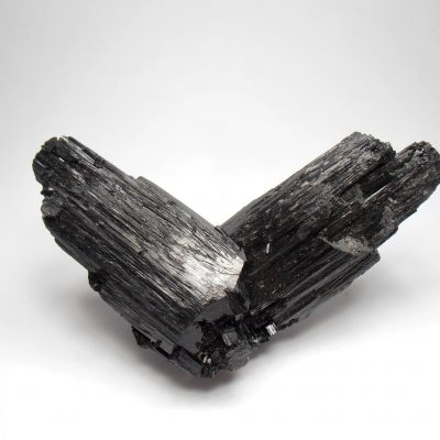 Tourmaline -Variety Schorl - Vee Twin Crystals from Erongo