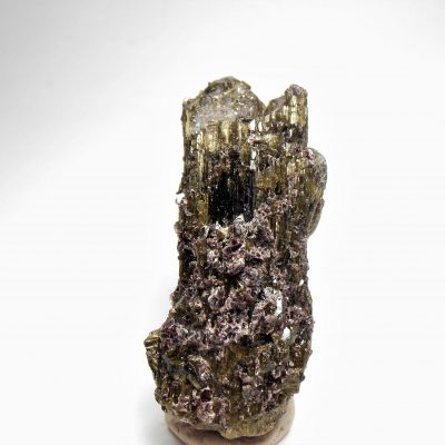Tourmalated Quartz Crystals and Lepidolite from Minas Gerais