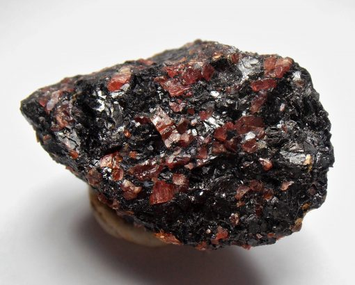 Rhodonite and Galena from the Broken Hill District, Yancowinna