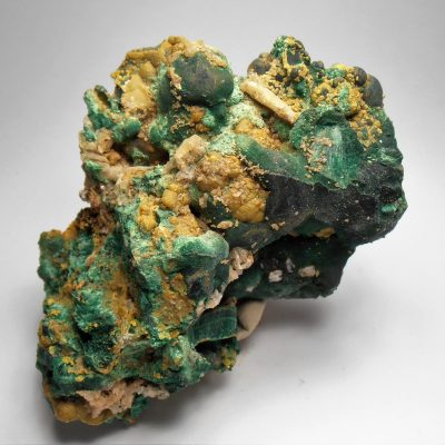 Pyromorphite from the Brown Prospect, Rum Jungle
