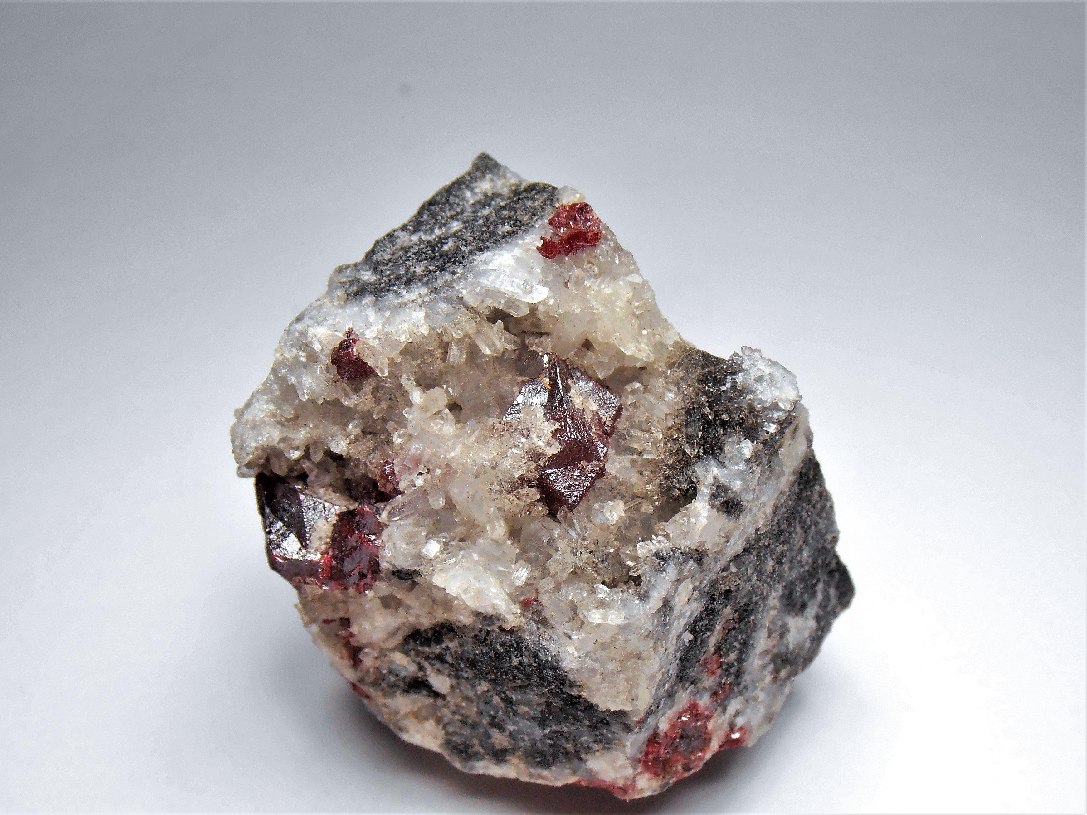 Cinnabar Crystals from the Tongren Prefecture, Guizhou