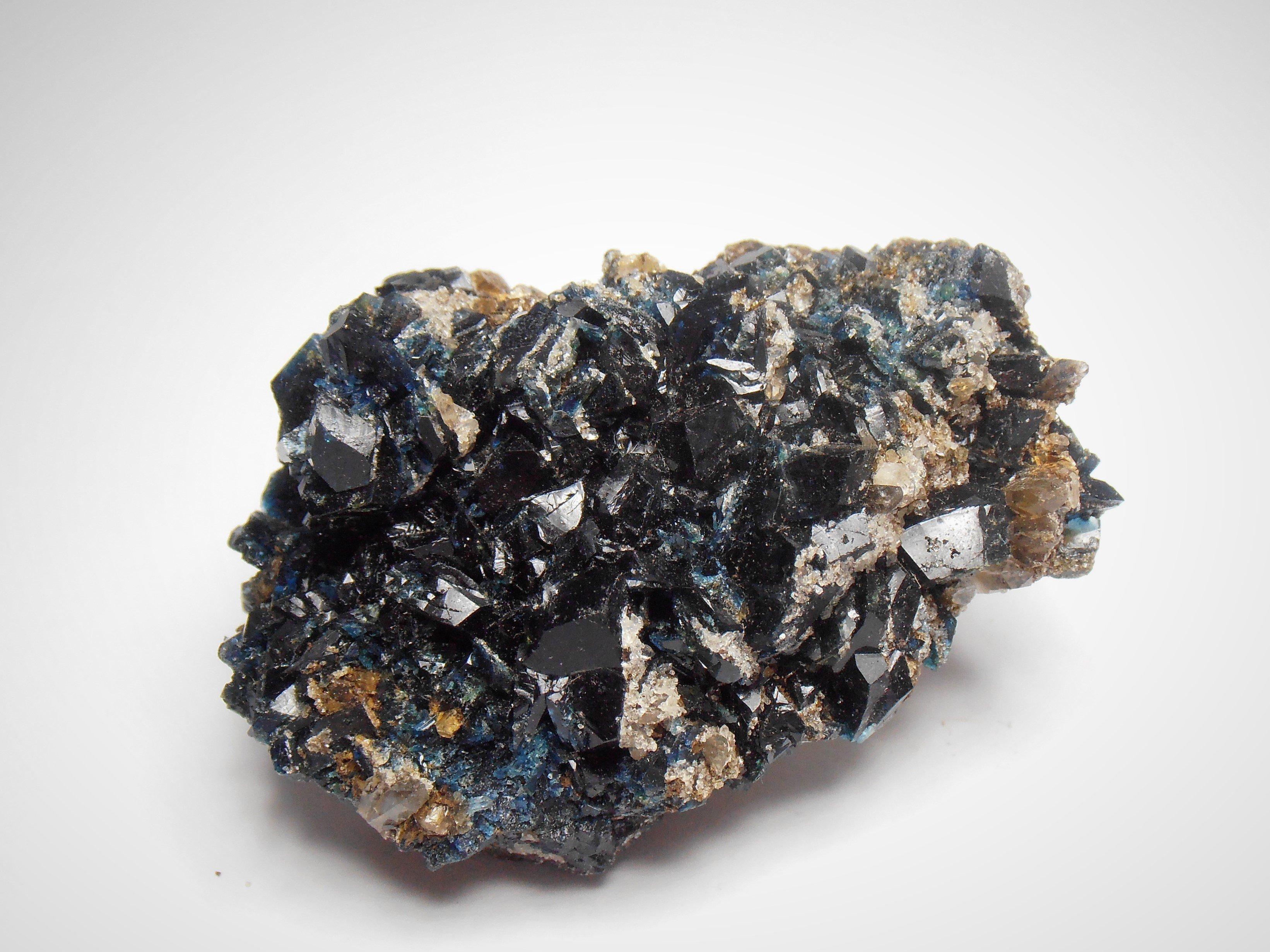 Lazulite from Rapid Creek in the Dawson Creek District