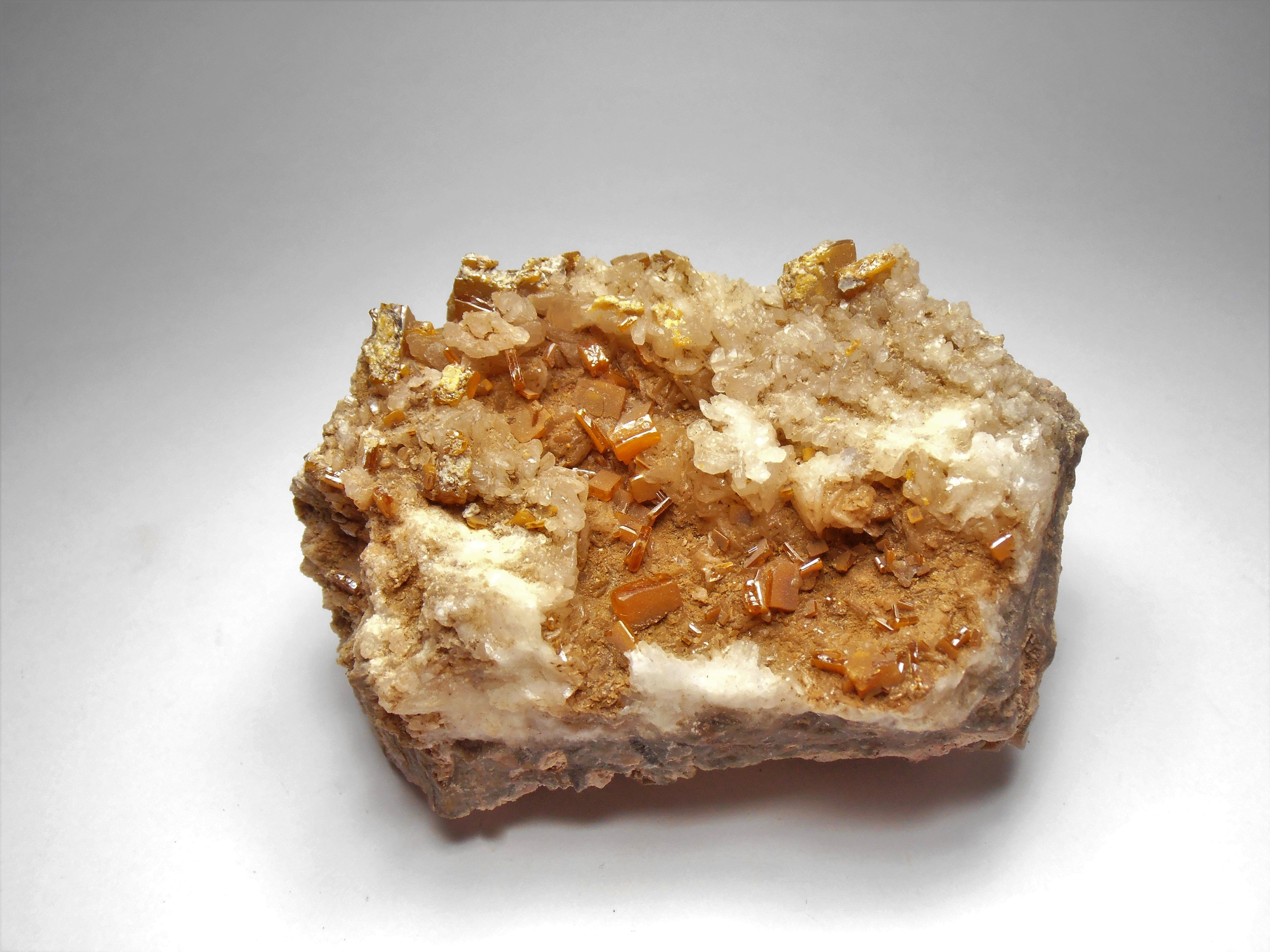 Wulfenite from the Rowley Mine, Maricopa County