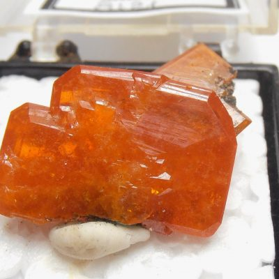 Wulfenite - Classic Red Cloud Mine Locale
