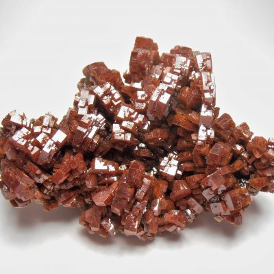 Vanadinite - Stunning Crystal Plate from the Mibladen District