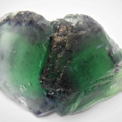 Fluorite - Emerald Cuboctahedrons from the Okorusu Mine