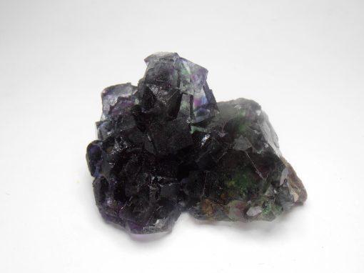 Fluorite - Transparent Crystals with Purple Phantoms the Okorusu Mine