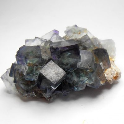 Fluorite - Transparent Blue-Green crystals from the Okorusu Mine