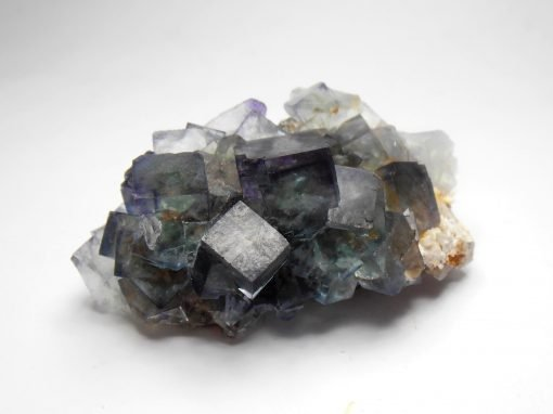 Fluorite - Transparent Blue-Green crystals from the Okorusu Mine