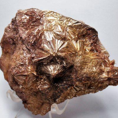 Pyrophyllite Crystals - Stunning Bronze Starbursts from N Carolina