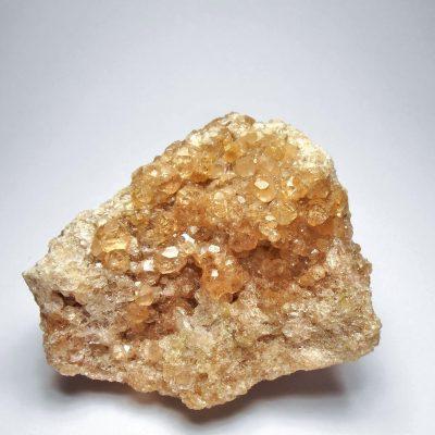 Hessonite - Pink Garnets from the Jeffrey Mine
