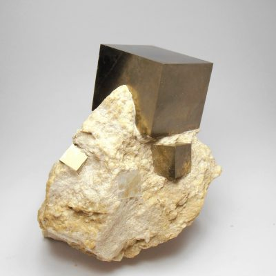 Pyrite Crystals from from Navajuin in La Rioja