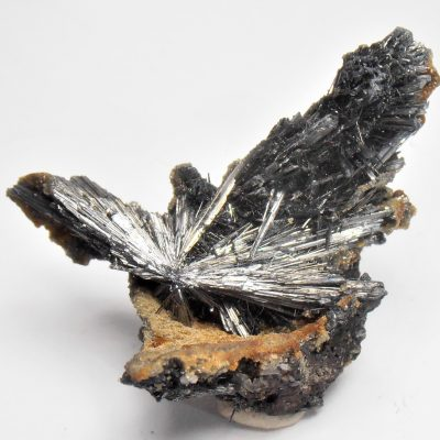 Stibnite from the Herja Mine, Baia Mare, Maramares Co.