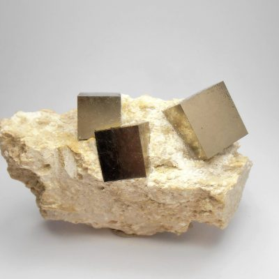Pyrite - Exceptional Crystals from Navajuin, La Rioja